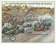 Timbre Sports Voitures Formule 1 Niger BF36 ** lot 16411