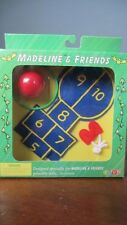 New Eden Madeline & Friends Accessories Hopscotch, Jump Rope, Hula- Playground