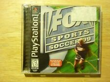 FOX Sports Soccer 99 Playstation PS1 **COMPLETE** *CIB**