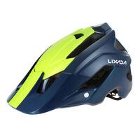 Bicycle Cycling MTB Skate Helmet Mountain Bike Helmet Men Women Navy Matt O8T8