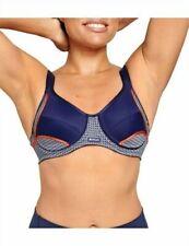 Berlei Ladies Electrify Mesh Sports SF3 Underwire Bra sizes 10C 10D 12D 14C Blue