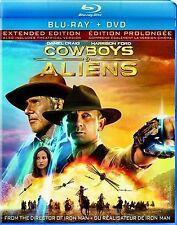 Cowboys & Aliens(NEW Blu-ray/DVD COMBO)Harrison Ford,Jeffrey Wright,Sam Rockwell