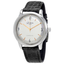 Glashutte Sixties Silver Dial Mens Watch 39-52-01-02-04