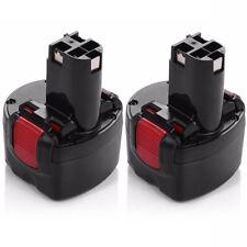 2X 9.6V 3000mAh BAT048 Battery for Bosch GDR 9.6 V 23609 32609-RT PSR 960 32609