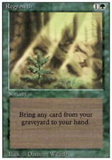 MTG magic cards 1x x1 Heavy Play, English Regrowth 3rd Edition Revised