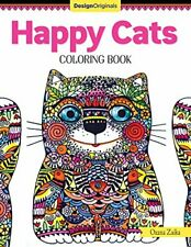 Happy Cats Coloring Book (Colouring Books) (Design Originals) by Oxana Zaika The