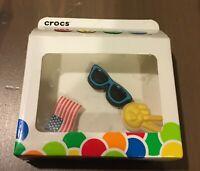 Crocs Jibbitz Freedom 3 Pack
