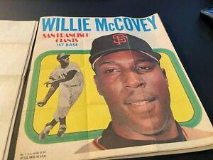 1970 Topps Baseball Poster Inserts 22/24