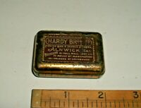 Vintage / Antique HARDY BROS Tin Box. Early 20th Century. Fishing Tackle. RARE!!