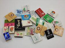Match Books Lot ~ Restaurants & Hotels