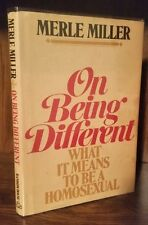 Merle Miller - On Being Different: What it Means to be a Homosexual 1st 1971