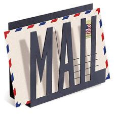 1Pack Desk Metal Mail Holder Letter Organizer File Rack Bills Sorter Storage