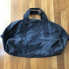 Vintage LL BEAN Large Grey Canvas Duffle Travel Bag USA Outdoor Travel Camping