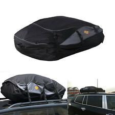 Waterproof Roof Top Carrier Bag Rack Storage Luggage Car SUV Rooftop Travel