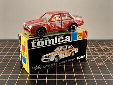 Tomy Tomica Pocket Car Made in Japan 38 Mitsubishi Lancer Turbo Red White