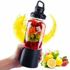 USB Rechargeable Portable Electric Blender Juicer Cup Bottle Fruit Mixing 500ML