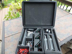 h-tec Premium Solar Hydrogen Fuel Cell Experimenters Set W/ Case & Manual