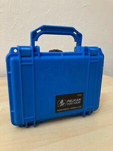 Pelican 1120 Watertight Hard Case with Foam camera drone accessories - Blue