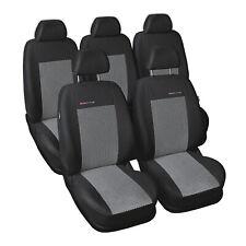 Fundas para asientos negra para Dacia Logan asiento del coche delante de referencia sólo asiento del conductor