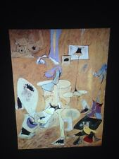 """Arshile Gorky """"Betrothal II"""" 35mm Slide Armenian Abstract Expressionism"""