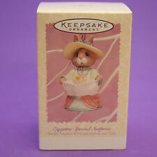Hallmark Keepsake Ornament 1996 Easter EGGSTRA SPECIAL SURPRISE Bunny