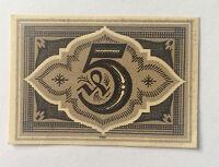 Notgeld Löbau 1921 5  Pfennige absolut Echt !!!
