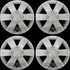 "fits 03-12 Nissan SENTRA 15"" Wheel Covers Full Rim Hub Caps Snap On 4 Lug Bolt"