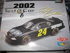 Jeff Gordon #24 Dupont 2002 Test Car Chevy Monte Carlo 1:24 Diecast w/COA  NEW