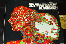 BIG BILL BROONZY & PETE SEEGER In Concert LP VERVE FOLKWAYS