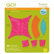 AccuQuilt GO Fabric Cutter Die -Double Wedding Ring