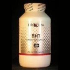 BHT 250mg LifeLink 500 Caps