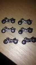 DRESS IT UP Motorbike Biker TT  ISLE OF MAN Racing  Novelty Buttons