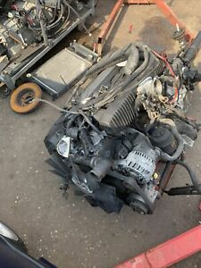bmw m50b25tu engine and gearbox complate e36