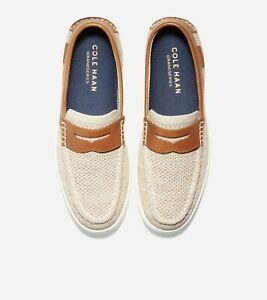 Cole Haan Men's Pinch Weekender Stitchlite Penny Loafers Shoes in Birch-12 M