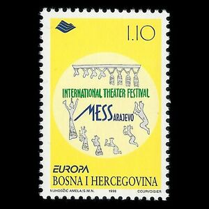 "Bosnia 1998 - EUROPA Stamps ""Festivals and National Celebrations"" - Sc 299 MNH"