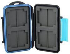 Memory Micro SD Card Case Water Resistant Storage Holder 4 or 8 Slot Waterproof