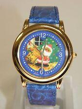 Milan Christmas Santa Claus Quartz Watch, #MLN1047, Very Cute!!