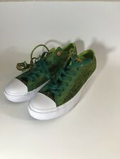 Converse CTAS II Ox Amazon Green/Bold Lime/White 154862C US Mens 10.5