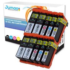 Lot de 10 cartouches d'impression type Jumao compatibles pour Lexmark S605