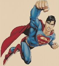 Superman Counted Cross Stitch Chart No. 10-66