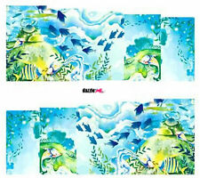 Nail Art Sticker Water Decals Transfer Decorative Art Sea Blue Ocean (DC203)