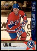 2020 National Hockey Card Day Base #NHCD-13 Chris Chelios - Montreal Canadiens