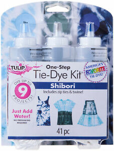 Duncan-Tulip One-Step Tie-Dye Kit-3-Color Shibori