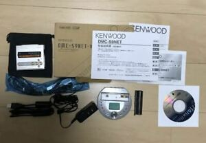 Kenwood DMC-S9NET-N MD Player Recorder Portable Minidisc Walkman Tested Working
