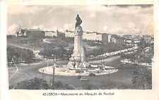 BF34560 lisboa monumento ao marques de pombal portugal   front/back scan