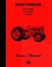 Massey Ferguson Mf 35 Deluxe Mf35 Operators Manual