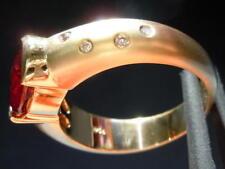 2.84ct Oval Spessartite Garnet Ring R3908 Diamonds by Lauren