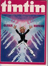 BD Comics Magazine Hebdo Journal Tintin No 50 30e 1975 Olivier Rameau