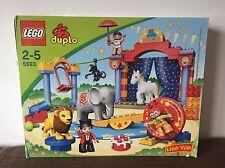 Lego Duplo Ville Zirkus - Clown, Manege, Löwe, Elefant, Artist Set 5593 + Ovp