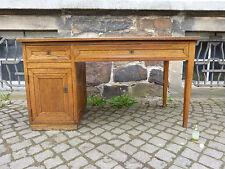 eleganter Jugendstil Büro Schreibtisch aus Eiche Deutscher Werkbund Rockhausen